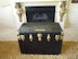 Vintage Steamer Trunk owned by Albert Perry and Orpha Camilla McGuffin