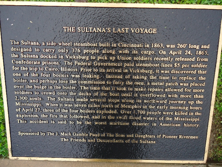 Histories: The Sultana's Last Voyage